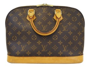 Louis Vuitton Lv Alma Monogram Canvas Handbag Tote
