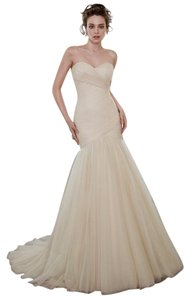 Maggie Sottero Ivory Tulle Lacey Wedding Dress Size 18 (XL, Plus 0x)