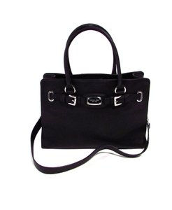 Michael Kors Satchel Handbag Signature Tote in Black