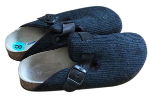 American Eagle Outfitters Dark grey Mules