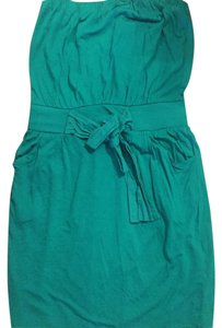 Mango short dress green on Tradesy