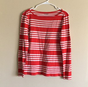 Old Navy T Shirt red with white stripes