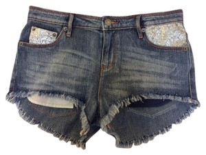 sass & bide Mini/Short Shorts blue, silver