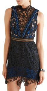 self-portrait Lace Guipure Clementine Mini Dress