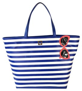 Kate Spade Make a Splash Tote NWT Tote in Blue and White
