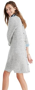 Madewell short dress Gray Sweater Button Back on Tradesy