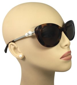 Chanel Chanel Cat Eye Tortoise Pearl Sunglasses 5340-H c.1425/S7 55