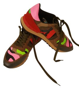 Valentino Sneaker Green Camouflage Athletic