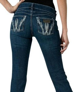 Wrangler rock 47 Boot Cut Jeans-Medium Wash