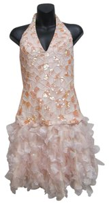 Cassandra Stone Studded Silk Dress