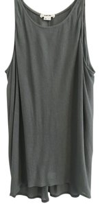 Helmut Lang Sheer Going Out Top Gray/Green