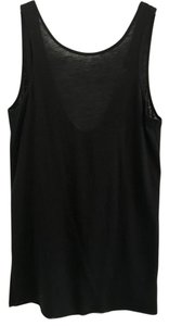 Helmut Lang Low Going Out Semi Sheer Top Black