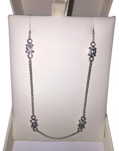 Independent Jeweler in Carmel, CA - Romanoos White Gold Diamond Yard Necklace