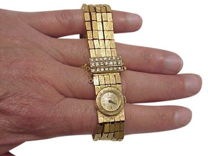 Other Unique Antique Girard Perregaux 18K Yellow Gold 2.00ct Diamond Watch