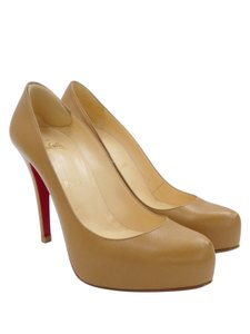 Christian Louboutin Louboutin Heels Leather Camel Pumps