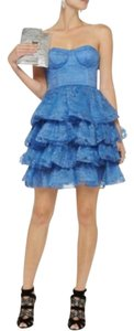 Alice + Olivia Lace Tiered Ruffle Playful Vintage Dress
