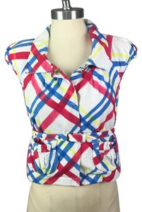 Love Moschino Top white, red, blue