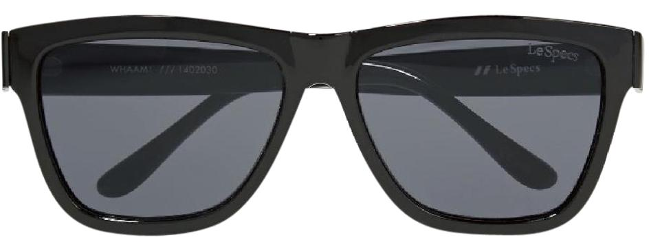 a1dca47dbd Le Specs Black Whaam Sunglasses - Tradesy