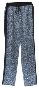 Vince Camuto Relaxed Pants Black and white