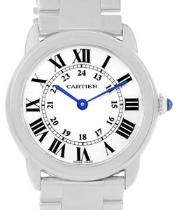 Cartier Cartier Ronde Solo Stainless Steel Small Ladies Watch W6701004