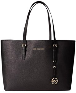 Michael Kors Jet Set Travel Tote in Black