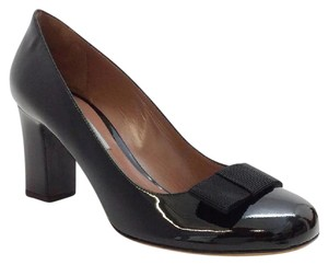 Tabitha Simmons Bow Patent Leather black patent Pumps