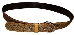 Coach Authentic Coach Belt with Traditional C Monogram Small to Medium
