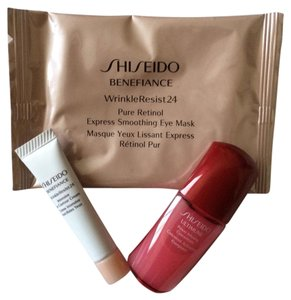 shiseido Shiseido Benefiance WrinkleResist24 Eye Cream Retinol Eye Mask & Ultimune concentrate