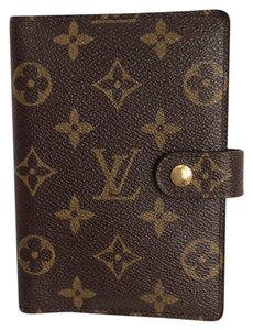 Louis Vuitton Monogram Luxury Agenda Notebook Cover