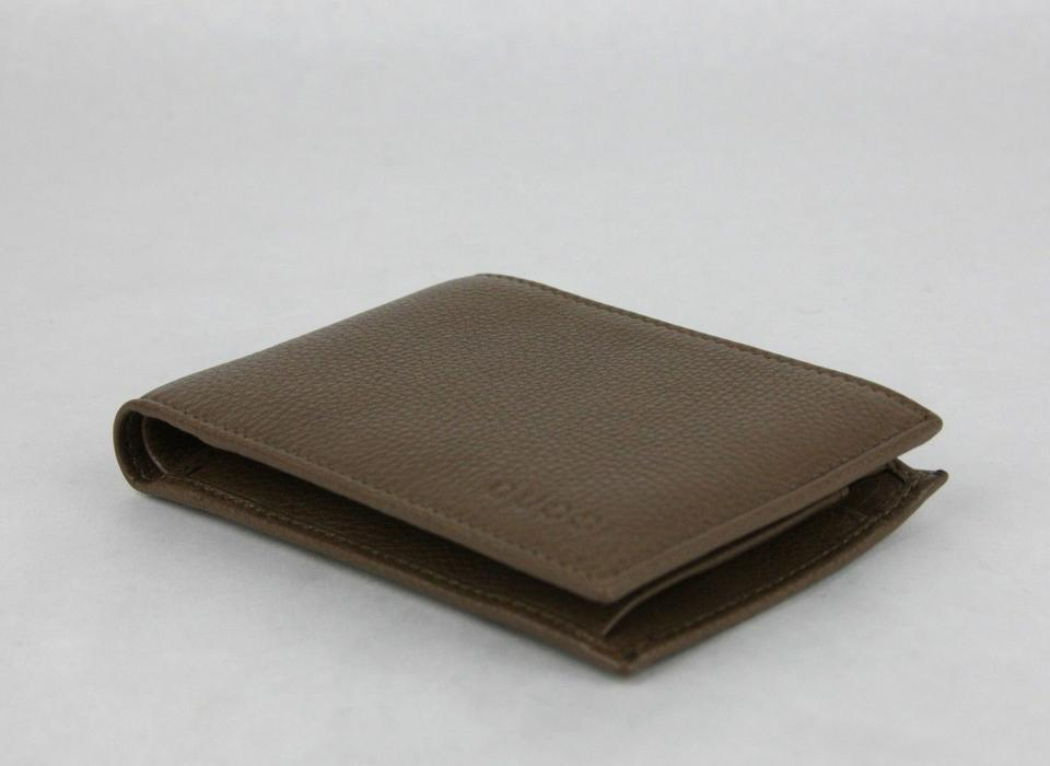 a301f913f67 Gucci Gucci Brown Leather Bifold Wallet w Logo and Coin Pocket 292534 2527  Image 8. 123456789