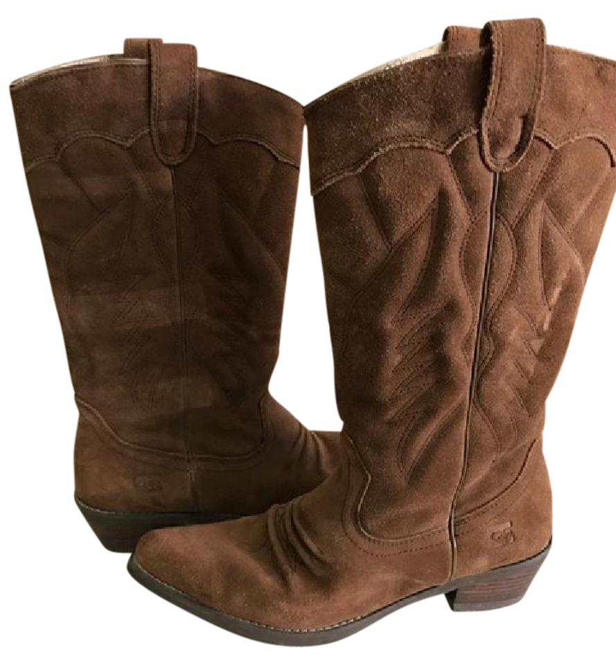 38dc1b7230b Roxy Brown Giddy Up Boots Booties Size US 8 Regular (M