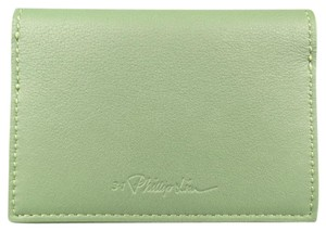 3.1 Phillip Lim Green Leather Card Case Wallet