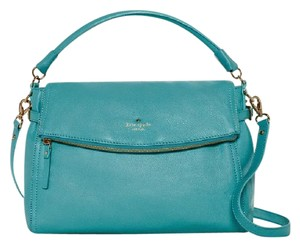Kate Spade Crossbody Pebbled Leather Satchels Shoulder Bag