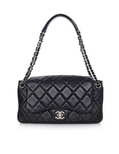Chanel Accordion Flap Quilted Classic Shoulder Bag