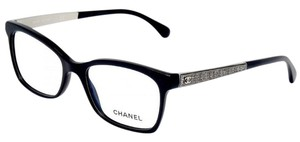 Chanel New Chanel 3332 Black Eyeglasses Reading Glasses