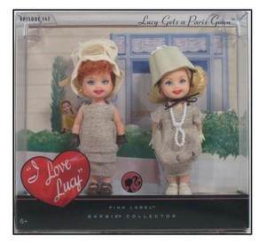 Barbie I Love Lucy Doll Set