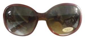 Ellen Tracy NEW FASHION ELLEN TRACY BURGANDY SUNGLASSES