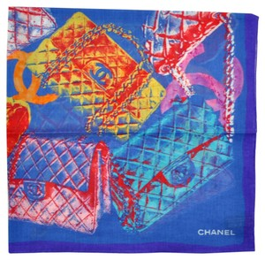 Chanel NEW Chanel CC COTTON scarf