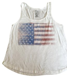 Billabong American Flag Top White