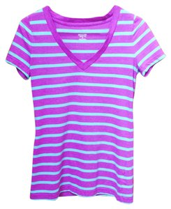 Mossimo Supply Co. T Shirt Purple and blue