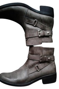 Anne Klein Ankle Gray Boots