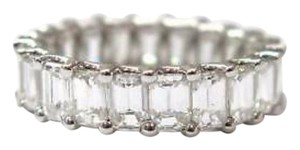Other Fine Emerald Cut Diamond Eternity Band Ring 5.25CT Size 6