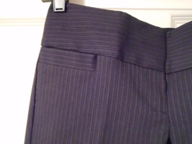 The Limited Dress Exact Stretch Pinstripe Boot Cut Pants Black