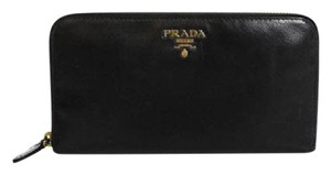 Prada Prada Zip Around Wallet w/box