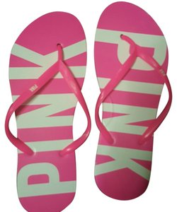 Victoria's Secret Pink and white Sandals