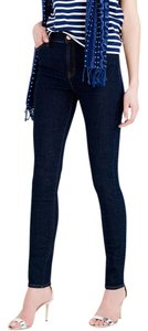 J.Crew The Lookout Lookout High Rise Skinny 29 Skinny Jeans-Dark Rinse
