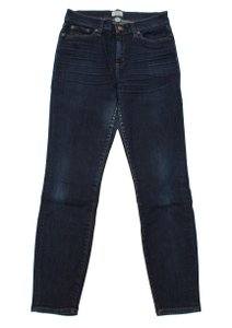 J.Crew The Lookout Lookout Resin Rinse 29 High Rise Skinny Jeans-Dark Rinse