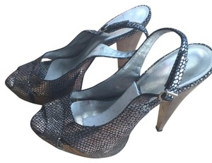 Jessica Simpson Metallic/ Iridescent Platforms