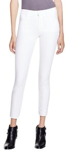 Mother The Cutoff Denim Skinny Jeans-Light Wash