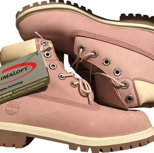 Pink Timberland Boots & Booties Up to 90% off at Tradesy